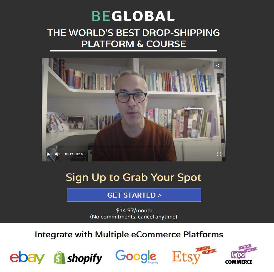 beglobal sign up