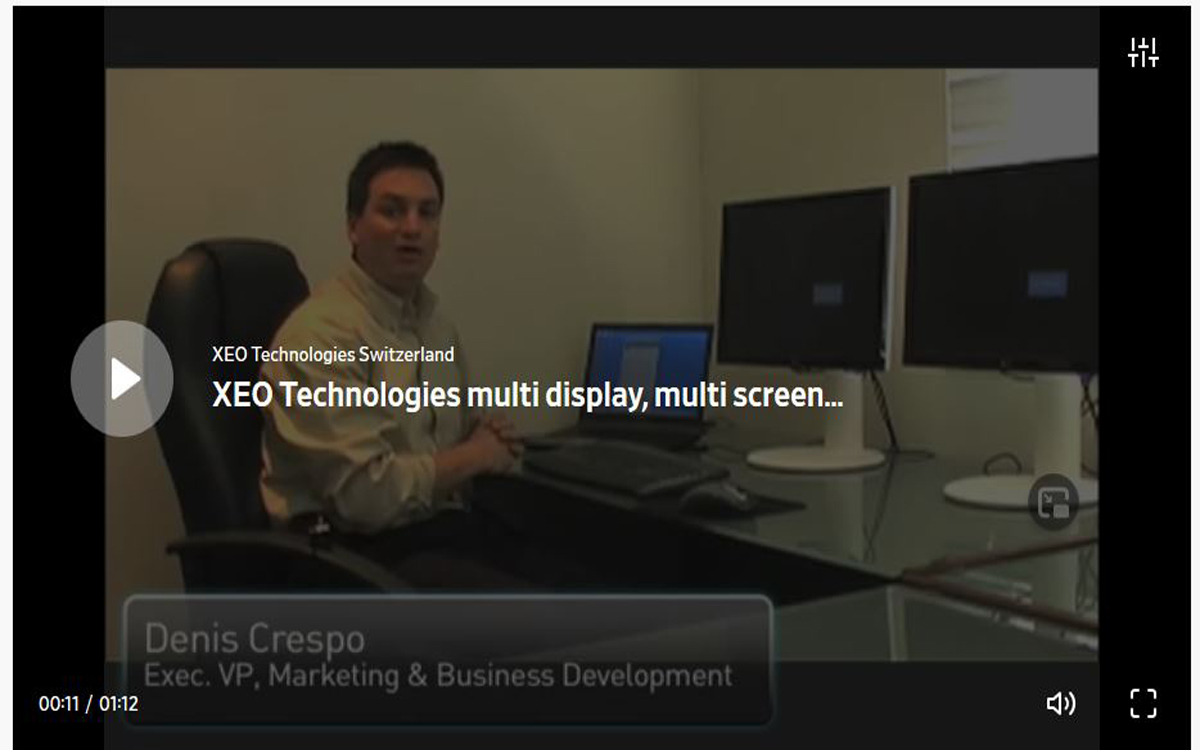 demo multiscreen